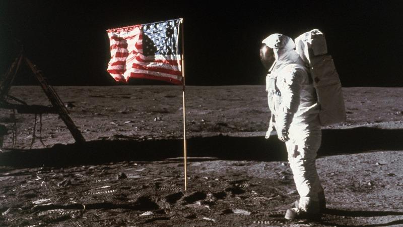 The moon landing.